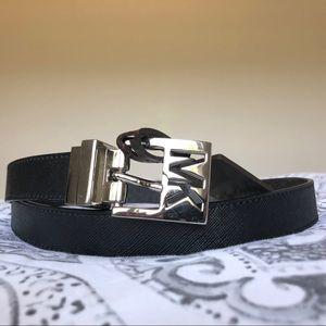 New Michael Kors Reversible MK Logo Belt - Medium
